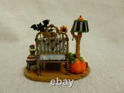 Wee Forest Folk Halloween Dreams Limited Edition m-412ss Retired Pumpkin