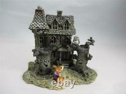 Wee Forest Folk Haunted Mouse House M-165a Made for Short Time Retired