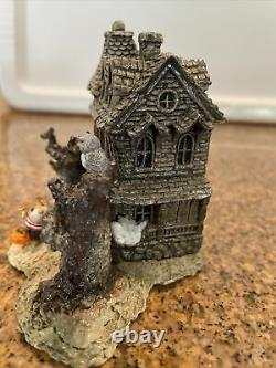 Wee Forest Folk Haunted Mouse House M-165a Made for Short Time Retired Signed