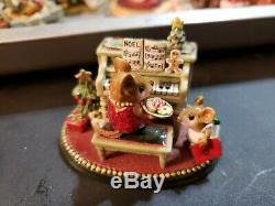 Wee Forest Folk Her Music Lesson Limited Edtion M-282c Christmas Special Retired