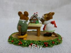 Wee Forest Folk Home Sweet Home Christmas Special M-227 Retired