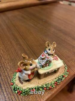 Wee Forest Folk Home Sweet Home Christmas Special M-227 Retired NO RUG! RARE