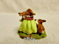 Wee Forest Folk Honey Bunnies Special Edition M-502 Retired Mouse Figurine
