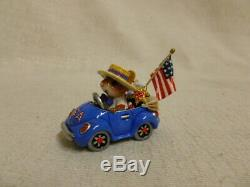 Wee Forest Folk Honk For The USA Fourth of July Special m-454e Retired Mouse