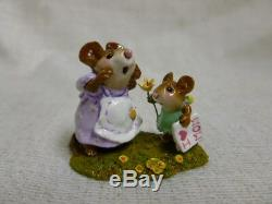 Wee Forest Folk I Love You Mom Easter Edition M-240c Retired