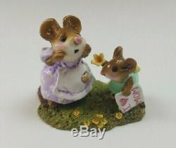 Wee Forest Folk I Love You Mom Easter LTD Edition M-240c Retired