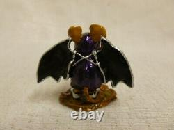 Wee Forest Folk Is That All Halloween Edition m-298 Retired Striped Black Wings
