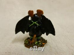 Wee Forest Folk Is That All Halloween LE m-298a Retired Spider Web Wings