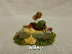 Wee Forest Folk Jack In The Sandbox Special Edtion M-206 Mouse Retired