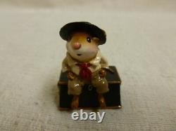 Wee Forest Folk Jim Jolly Tar Special Edition M-363 Retired