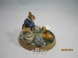 Wee Forest Folk Just Ducky from the Mill Pond Series Retired In WFF Box