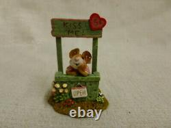 Wee Forest Folk Kissin' Kate Special Edition Green M-323 Mouse Valentine Retired