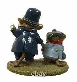 Wee Forest Folk LTD-02 HELPING HAND Police Released & Retired 1985 SIGNED