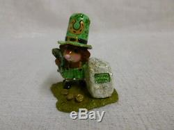 Wee Forest Folk Lucky Blarney Special St. Patrick's Day Edition M-319a Retired