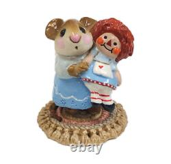 Wee Forest Folk M-070 Me & Raggedy Ann Blue Special (RETIRED)