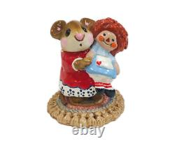 Wee Forest Folk M-070 Me & Raggedy Ann Red Special (RETIRED)