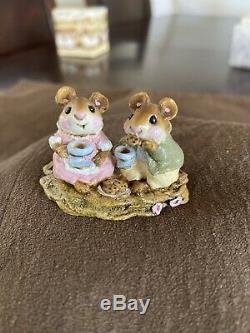Wee Forest Folk M-074 Tea For Two Retired