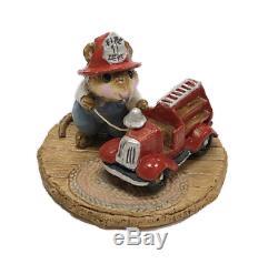 Wee Forest Folk M-077 Little Fire Chief VINTAGE (RETIRED)