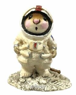 Wee Forest Folk M-078 Moon Mouse 1982 1984 Retired WithBOX Collectible Rare