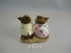 Wee Forest Folk M-079 Sweethearts from 1982 Retired in Older Style WFF Box