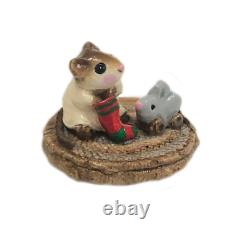 Wee Forest Folk M-093 First Christmas (Retired)