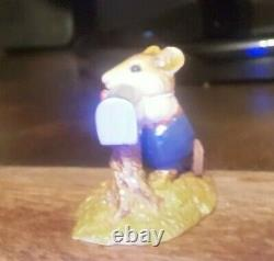 Wee Forest Folk M-114 Pen Pal Mousey Retired WithBox! Free Shipping