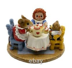 Wee Forest Folk M-177 Tea for Three Heart Teapot Special (Retired)