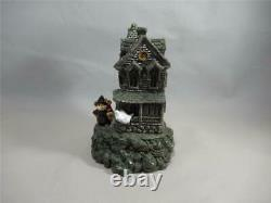 Wee Forest Folk M-185 Haunted Mouse House Retired in 2000 Not Perfect