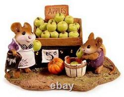 Wee Forest Folk M-187 Adam's Apples Halloween Edition (RETIRED)