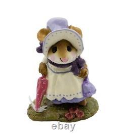 Wee Forest Folk M-195b Lady Mousebatten Lavender Special (RETIRED)