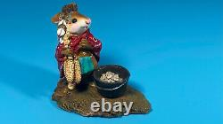 Wee Forest Folk M-197 Chief Mouse-asoit 1994 Annette Peterson RETIRED