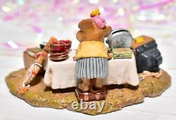 Wee Forest Folk M-202 The Yard Sale RETIRED Mouse Raggedy Ann Doll TV WFF