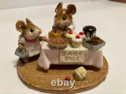 Wee Forest Folk M-220 Mousey's Bake Sale Retired