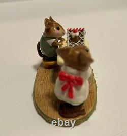 Wee Forest Folk M-227 Home Sweet Home Christmas Retired