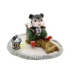 Wee Forest Folk M-244 Yuletide Possum Christmas Special (Retired)