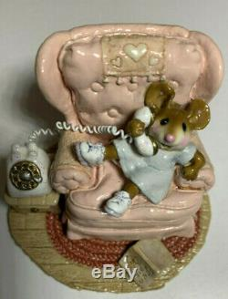 Wee Forest Folk M-265 Holly's hotline pink Retired