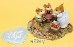 Wee Forest Folk M-268 Country Classroom 2001 Retired Teacher Students Mouse