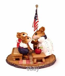 Wee Forest Folk M-268s Country Classroom USA (RETIRED)