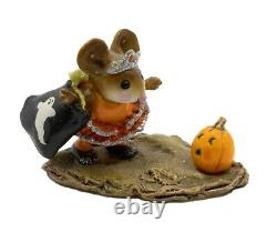 Wee Forest Folk M-299 The Halloween Princess Orange Special (Retired)