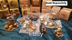 Wee Forest Folk M-321a Poppy's Easter mice figurine retired limited edition