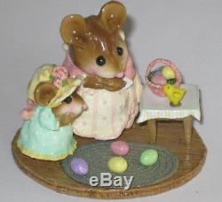 Wee Forest Folk M-330b EASTER SURPRISE, limited edition retired