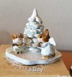 Wee Forest Folk M-343 STARLIGHTERS Retired Mint