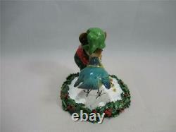 Wee Forest Folk M-351 Helpful Elf Christmas Retired WFF Box