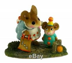 Wee Forest Folk M-372 Mommy's Little Trickster (RETIRED)