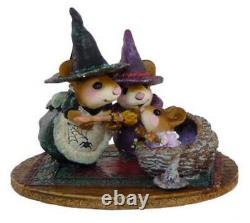 Wee Forest Folk M-373b Baby Witch's First Broom (RETIRED)