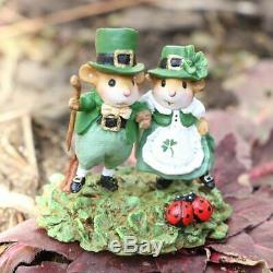 Wee Forest Folk M-393c St. Patty's Day Promenade (RETIRED)
