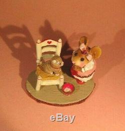 Wee Forest Folk M-431 My Valentine Kitty-Retired