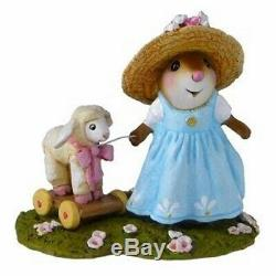 Wee Forest Folk M-445b Mary's Little Lamb (RETIRED)