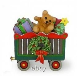 Wee Forest Folk M-453a Christmas Box Car Wonderland Express (RETIRED)