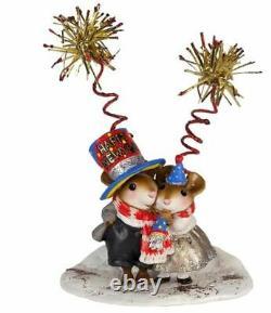 Wee Forest Folk M-465b Happy New Year! (RETIRED)